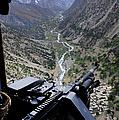 An Aerial Gunner Surveys by Stocktrek Images