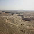 An Aerial View Of The Wadi Over Kunduz by Terry Moore