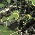 An Aerial View Of Warwick Castle by Richard Nowitz