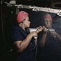 An African American Rosy The Riveter by Everett