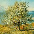 An Alpine Lake by John William Inchbold
