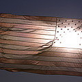 An American Flag At Sunrise by Joel Sartore