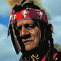 An American Indian No2 by Guy Harnett