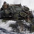 An Amphibious Assault Vehicle by Stocktrek Images