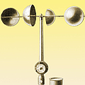 An Anemometer by Science Source