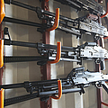An Armory Of Pk Machine Guns Designed by Terry Moore