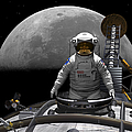 An Astronaut Takes A Last Look At Earth by Walter Myers