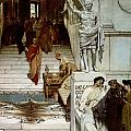 An Audience At Agrippa's by Sir Lawrence Alma-Tadema