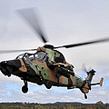 An Australian Army Tiger Helicopter by Stocktrek Images