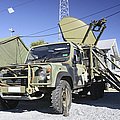 An Australian Defense Force Satellite by Stocktrek Images