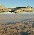 An Av-8b Harrier Conducts A Test Flight by Stocktrek Images