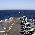 An Av-8b Takes Off From The Flight Deck by Stocktrek Images