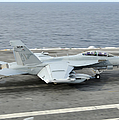 An Ea-18g Growler Makes An Arrested by Stocktrek Images