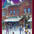 An Early Snow For Cafe Monte Alto by Nancy Griswold