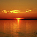 An Erie Sunset by Jim Butera