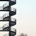 An Escape Stairway by Gerard Hermand