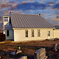 An Evening At Mcelwee Chapel by Kathy Jennings