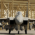 An F-15 Eagle Taxis Prior To A Training by Stocktrek Images