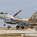 An F-15i Raam Taking Off From Hatzerim by Giovanni Colla