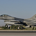 An  F-16c Of The Pakistan Air Force by Giovanni Colla