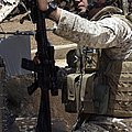 An Infantryman Talks To His Marines by Stocktrek Images