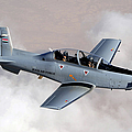 An Iraqi Air Force T-6 Texan Trainer by Stocktrek Images