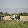 An M-atv Driving Towards Aliabad by Terry Moore