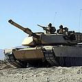 An M1a1 Main Battle Tank by Stocktrek Images