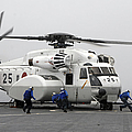 An Mh-53e Super Stallion Helicopter by Stocktrek Images