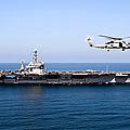 An Mh-60r Sea Hawk Flies by Stocktrek Images