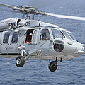 An Mh-60s Sea Hawk Search And Rescue by Stocktrek Images