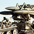 An Mim-23b Hawk Surface-to-air Missile by Stocktrek Images