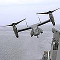 An Mv-22b Osprey Takes by Stocktrek Images