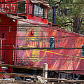 An Old Caboose  by Phyllis Denton