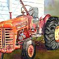 An Old Tractor by Michiko Taylor