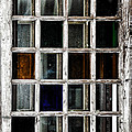An Old Window Pane by Bill Cannon