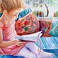 An Open Book by Carol Allen Anfinsen