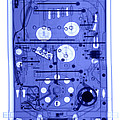 An X-ray Of A Pinball Machine by Ted Kinsman