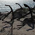 Anchor Beach 15 by Jez C Self