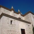 Ancient Architectural Church Building Granada Spain by John Shiron