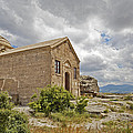 Ancient Church On Hills Of Anatolia by Kantilal Patel