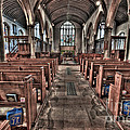 Ancient Lingfield Church by Donald Davis