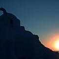 Ancient Old Chapel Mykonos Island Sunset   Greece  by Colette V Hera  Guggenheim