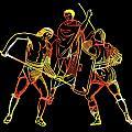 Ancient Roman Gladiators by James Hill