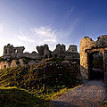 Ancient Ruins On Top Of The Rock by Chris Hill