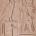 Ancient Stone Carvings, Karnak, Egypt by Photo Researchers, Inc.
