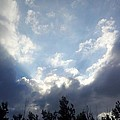 And The Clouds Opened Up by Christy Patino