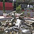 Andrea's Fountain At Ghirardelli Square by Bill Owen