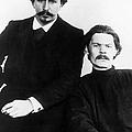 Andreyev And Gorki by Granger