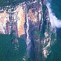 Angel Falls In Venezuela by Carl Purcell